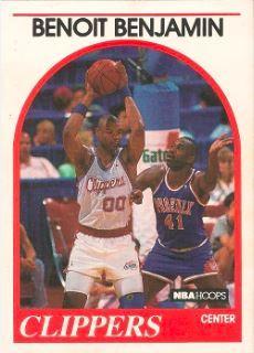 1989-90 NBA Hoops #114 Benoit Benjamin