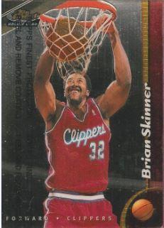 1998-99 Topps Finest #245 Brian Skinner
