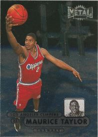 1997-98 Metal Universe Championship Preview #75 Maurice Taylor