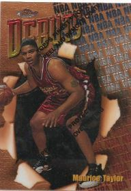 1997-98 Topps Finest #109 Maurice Taylor