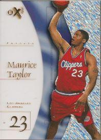 1997-98 E-X2001 Essential Credentials Future #69 Maurice Taylor
