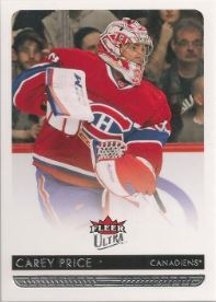 2014-15 Fleer Ultra #100 Carey Price