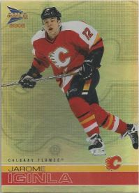 2001-02 Pacific Prism Gold McDonald's #3 Jarome Iginla