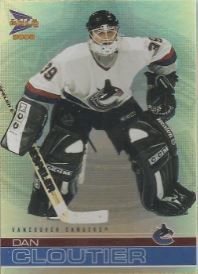 2001-02 Pacific Prism Gold McDonald's #40 Dan Cloutier