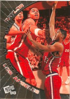 1998 Press Pass Real Deal Rookies #R9 Maurice Taylor