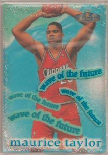 1997-98 Flair Showcase Wave of the Future #2WF Maurice Taylor