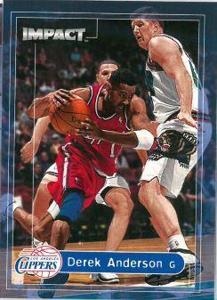 1999-00 Skybox Impact - [Base] #164 Derek Anderson