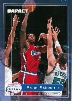 1999-00 Skybox Impact - [Base] #176 Brian Skinner