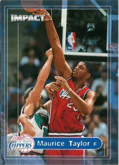 1999-00 Skybox Impact - [Base] #37 Maurice Taylor
