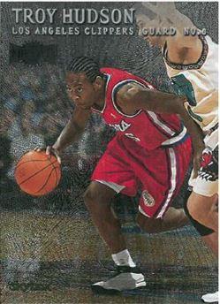 1999-00 Skybox Metal #134 Troy Hudson