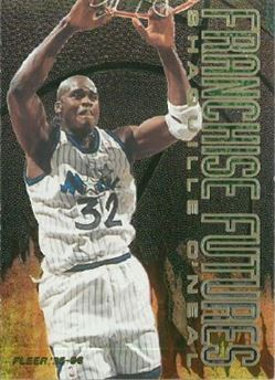 1995-96 Fleer - Franchise Futures #7 Shaquille O'Neal