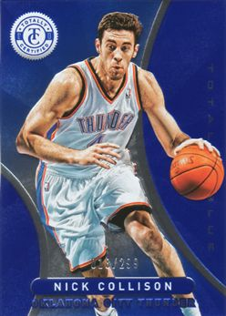 2012-13 Totally Certified Blue 045 Nick Collison