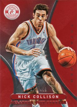 2012-13 Totally Certified Red 045 Nick Collison