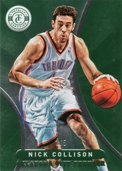 2012-13 Totally Certified Green 045 Nick Collison