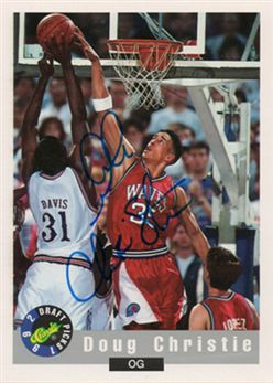 1992 Classic Autographs #20 Doug Christie