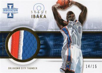 2012-13 Innovation Jerseys Prime 48 Serge Ibaka