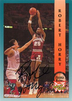 1992 Front Row Autographs #30 Robert Horry