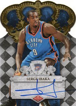 2009-10 Crown Royale 138 Serge Ibaka RC AU