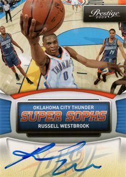 7eb1d206d0e256 2009-10 Prestige Super Sophs Signatures 3 Russell Westbrook