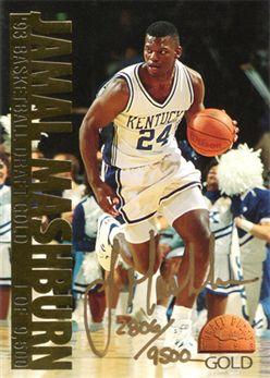 1993 Classic Gold #NNO Jamal Mashburn AU