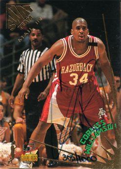 1995 Signature Rookies Draft Day Mail-In Signatures Promo5 Corliss Williamson