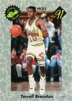 1991 Classic 6 Terrell Brandon