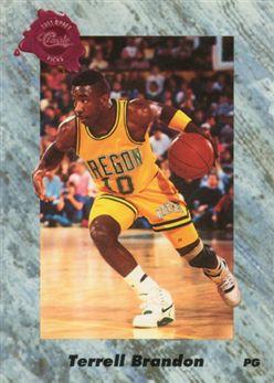 1991 Classic Four Sport 154 Terrell Brandon