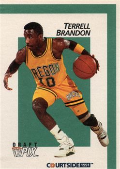 1991 Courtside 6 Terrell Brandon