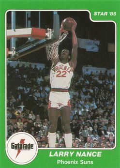 1985 Star Gatorade Slam Dunk #2 Larry Nance