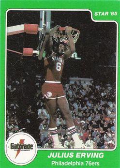 1985 Star Gatorade Slam Dunk #5 Julius Erving