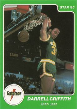 1985 Star Gatorade Slam Dunk #6 Darrell Griffith