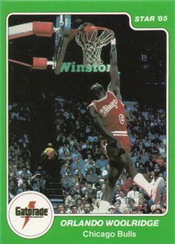 1985 Star Gatorade Slam Dunk #9 Orlando Woolridge