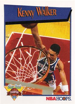1991 92 Hoops Slam Dunk 5 Kenny Walker
