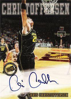 2002 Press Pass Autographs 06 Chris Christoffersen