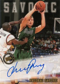 2002 Press Pass Autographs 26 Predrag Savovic