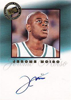 2002 Press Pass Pro Autographs 07 Jerome Moiso