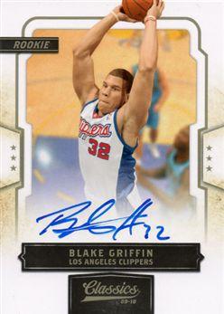 2009-10 Classics 161 Blake Griffin RC AU