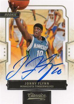 2009-10 Classics 165 Jonny Flynn RC AU