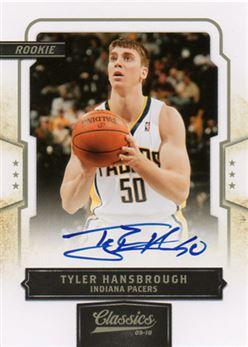 2009-10 Classics 171 Tyler Hansbrough RC AU