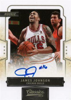 2009-10 Classics 174 J.Johnson RC AU