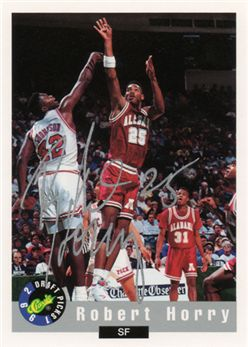 1992 Classic Autographs #33 Robert Horry