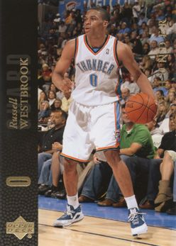 8fa225594bc931 2008-09 Upper Deck Lineage SE 204 Russell Westbrook