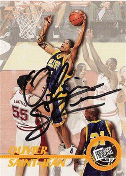 1997 Press Pass Autographs 20 Olivier Saint-Jean