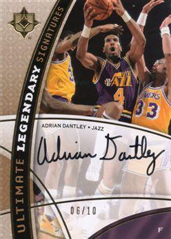 2008-09 Ultimate Collection Legendary Signatures LSAD Adrian Dantley