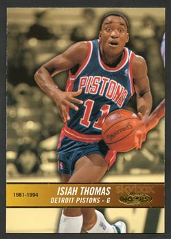 2004-05 Hoops 173 Isiah Thomas HH $6.00