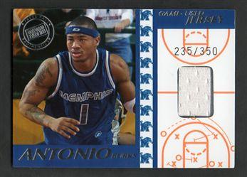 2004 Press Pass Game-Used Jerseys Silver AB Antonio Burks $10.00