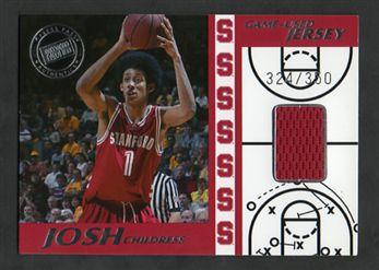 2004 Press Pass Game-Used Jerseys Silver JC Josh Childress $10.00
