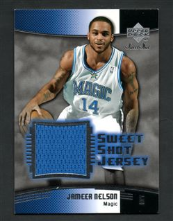 2004-05 Sweet Shot Jerseys JN Jameer Nelson $8.00