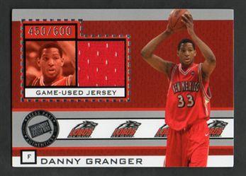 2005 Press Pass Jerseys DG Danny Granger $15.00