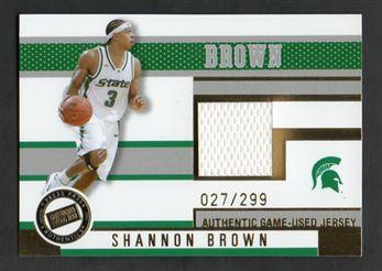 2006 Press Pass Jerseys Gold JCSB Shannon Brown $10.00